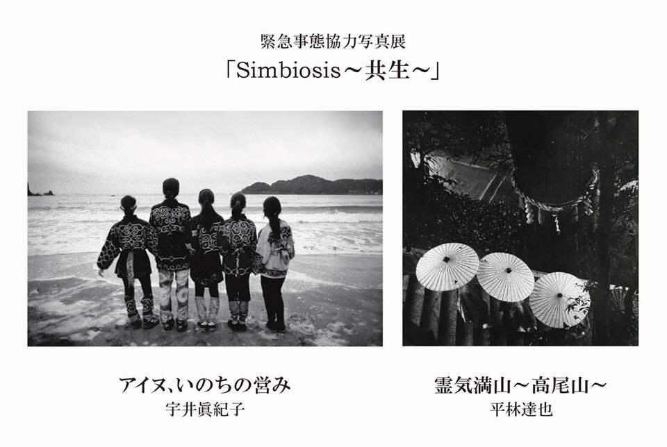 宇井眞紀子氏 展覧会「Simbiosis~共生~」_b0187229_16331922.jpg