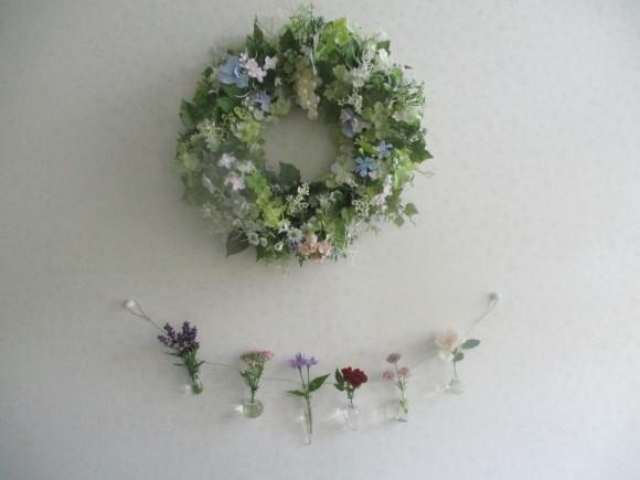 お花を飾って3人でランチ会_a0279743_22020918.jpg