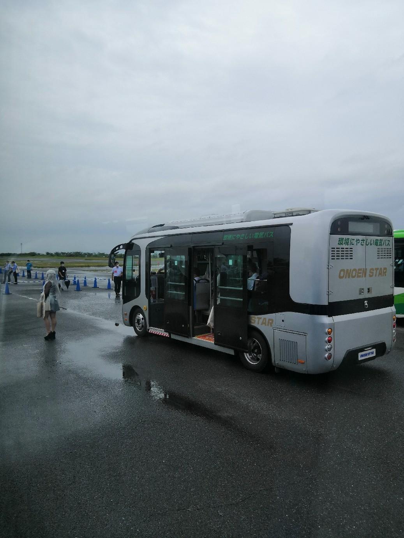 #バステクフォーラム @舞洲 #電気バス #ev _a0004752_15002788.jpg