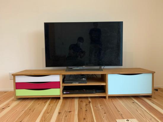 オリジナルテレビ台 納品_f0053665_19020516.jpg