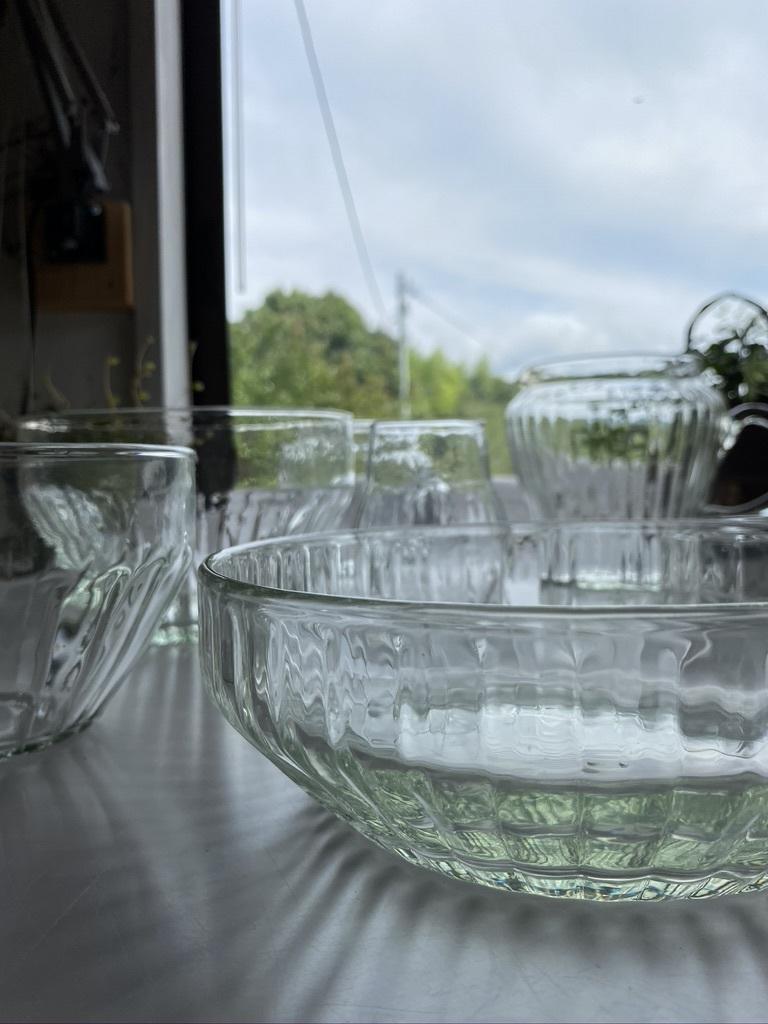 リューズガラスの器たち & ヤマモモのサワー漬け_c0334574_10583269.jpeg