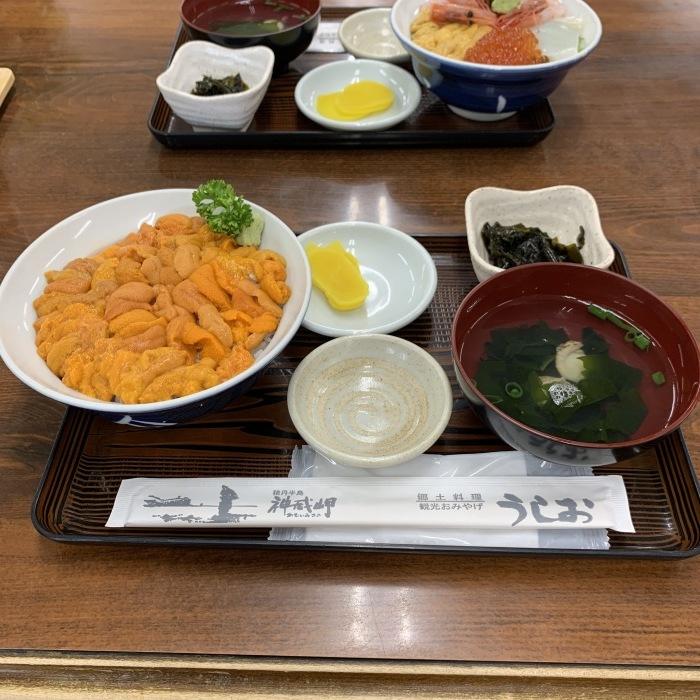 朝イチ!朝駆け!赤ウニ丼!😋_c0226202_17474399.jpeg