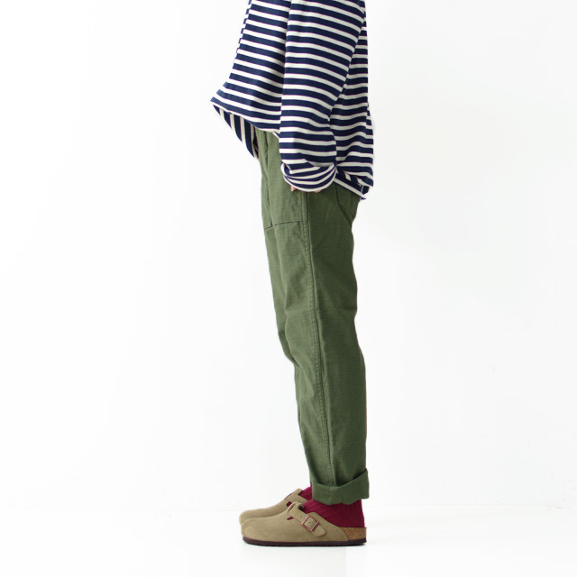 orslow[オアスロウ] W SLIM FIT FATIGUE PANTS [01-5032-16] スリムフィット ファティーグパンツ  LADY\'S _f0051306_17004912.jpg