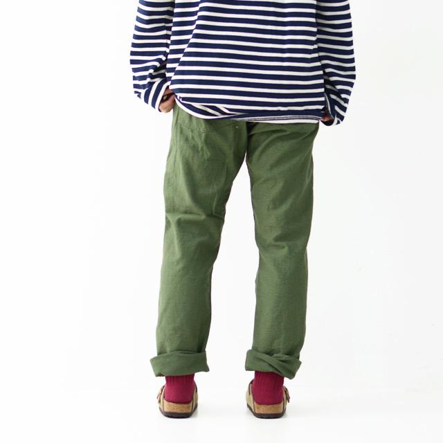 orslow[オアスロウ] W SLIM FIT FATIGUE PANTS [01-5032-16] スリムフィット ファティーグパンツ  LADY\'S _f0051306_17004993.jpg