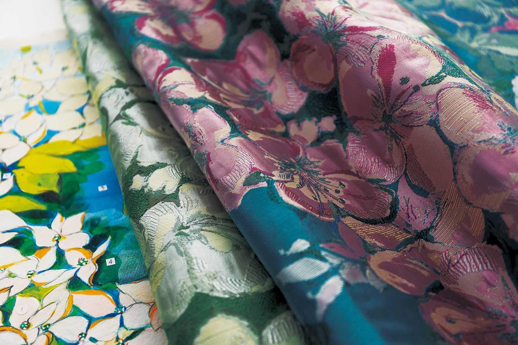 川島織物セルコン 「Sumiko Honda」のご紹介 _e0243413_17045841.jpg