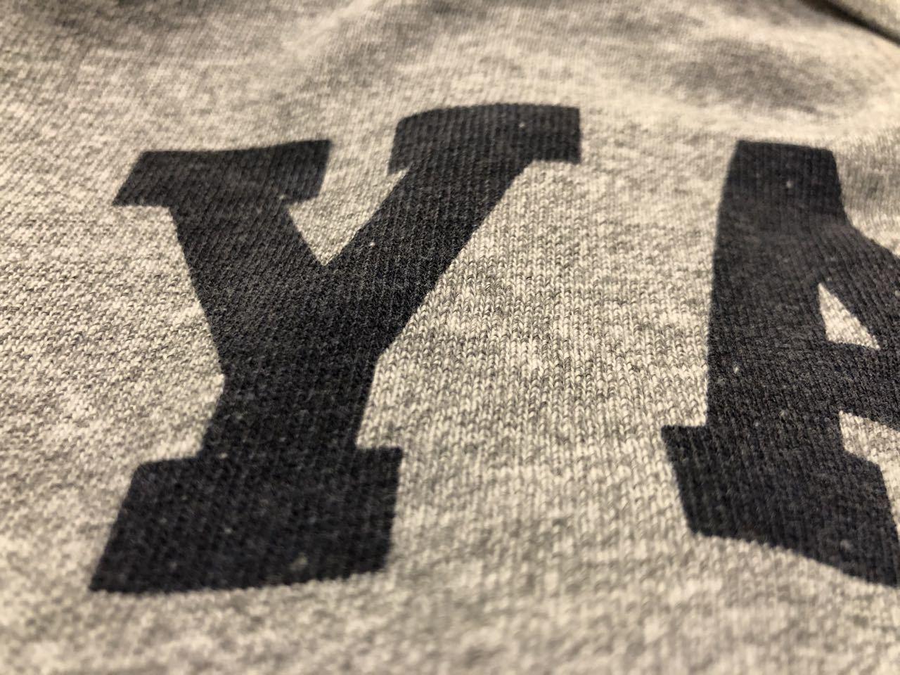 7月12日(日)入荷! 80s チャンピオン トリコタグ champion IVYリーグ  YALE 大学 染み込みプリントTシャツ_c0144020_13071906.jpg