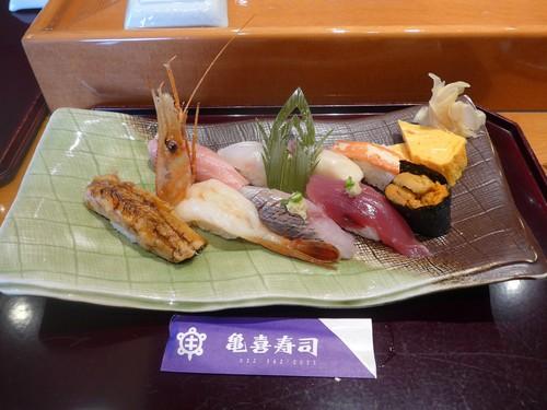 本塩釜「亀喜寿司」へ行く。_f0232060_22474036.jpg