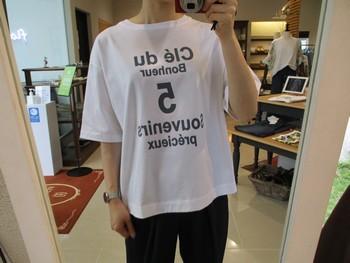 ゆったり楽ちんTシャツ♪【出雲店】_e0193499_15464461.jpg