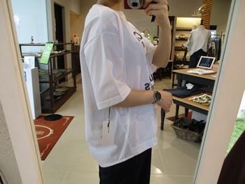ゆったり楽ちんTシャツ♪【出雲店】_e0193499_15523168.jpg