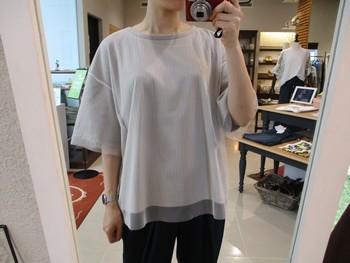 ゆったり楽ちんTシャツ♪【出雲店】_e0193499_16060266.jpg
