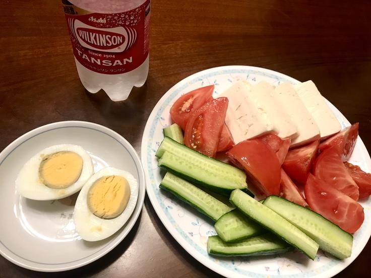 トマト・きゅうり・豆腐・ゆでタマゴ_c0212604_20233955.jpg