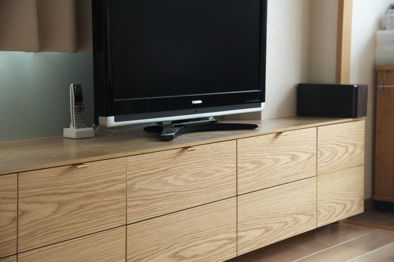 2020.7.13     テレビボード施工_e0192609_15580300.jpg