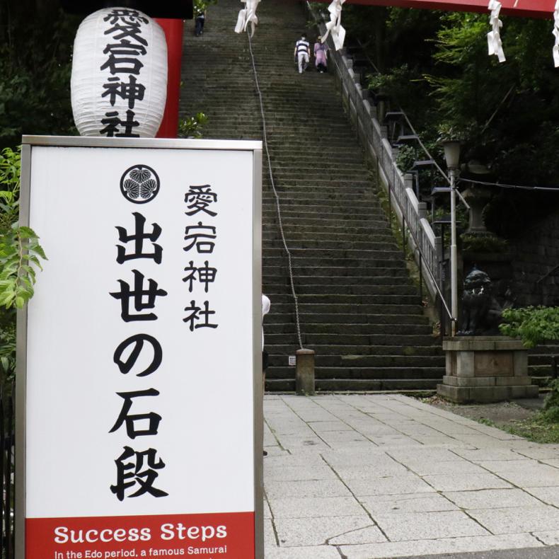 愛宕山の出世の石段を登ったので、これから出世しまくる_c0060143_18460034.jpg