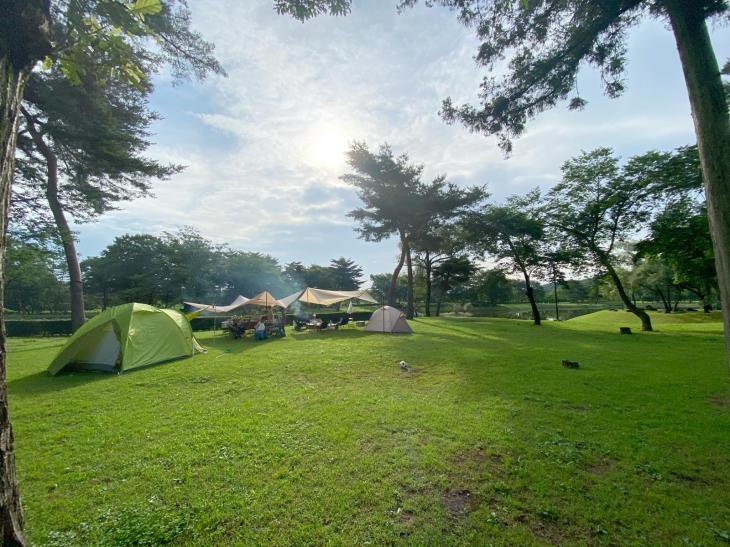 Campな週末。_a0127284_22304264.jpg