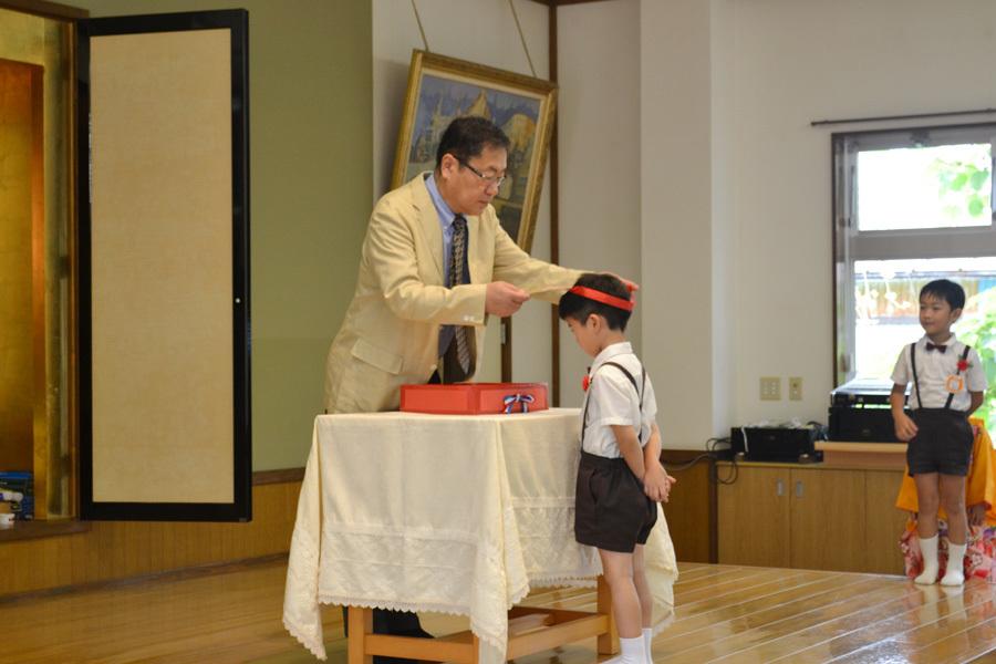 上宮第二幼稚園のお誕生会でした。_d0353789_11524885.jpg