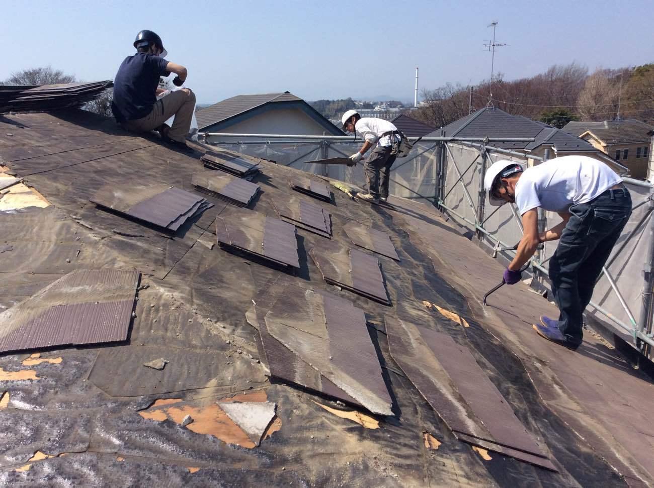 屋根葺き替え工事 _d0358411_12592788.jpg