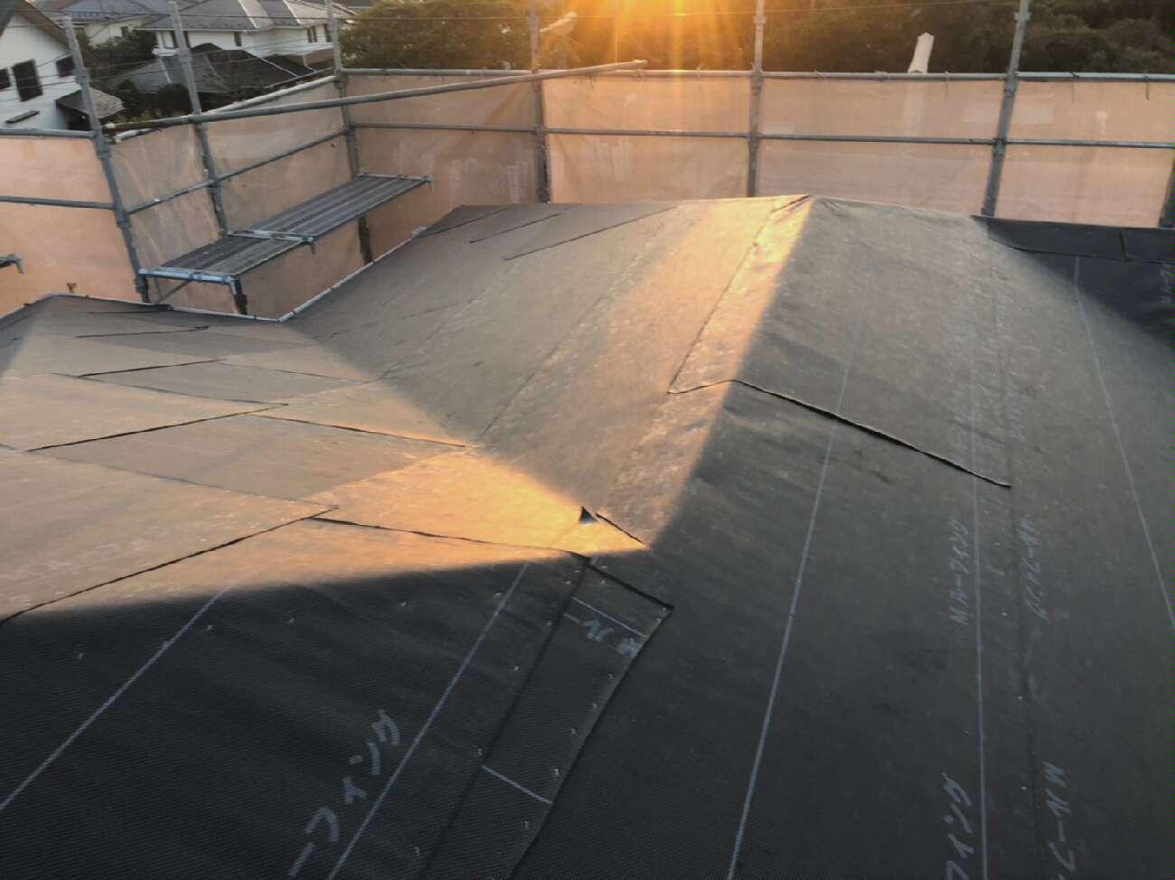 屋根葺き替え工事 _d0358411_13041275.jpg