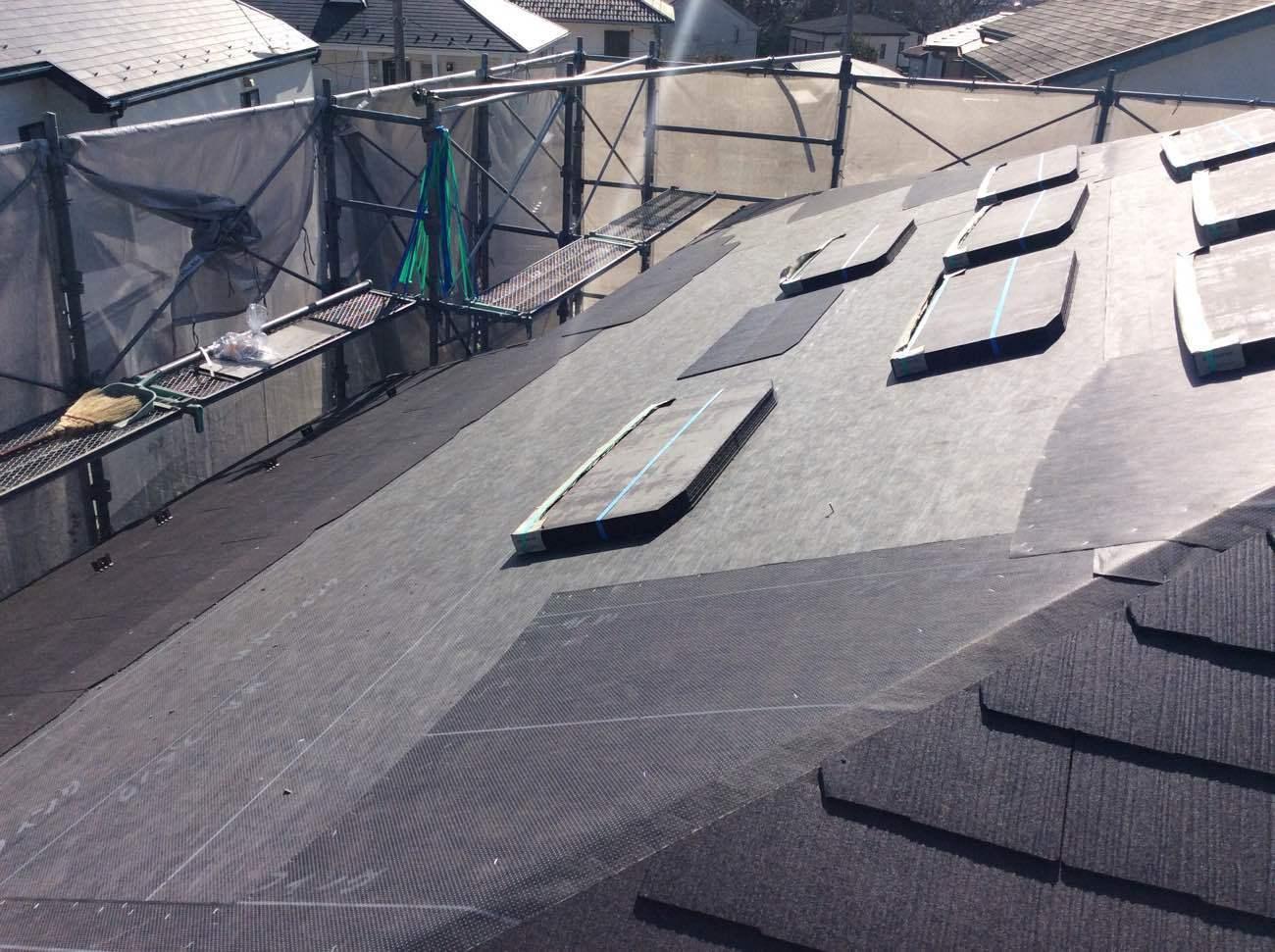 屋根葺き替え工事 _d0358411_13050638.jpg