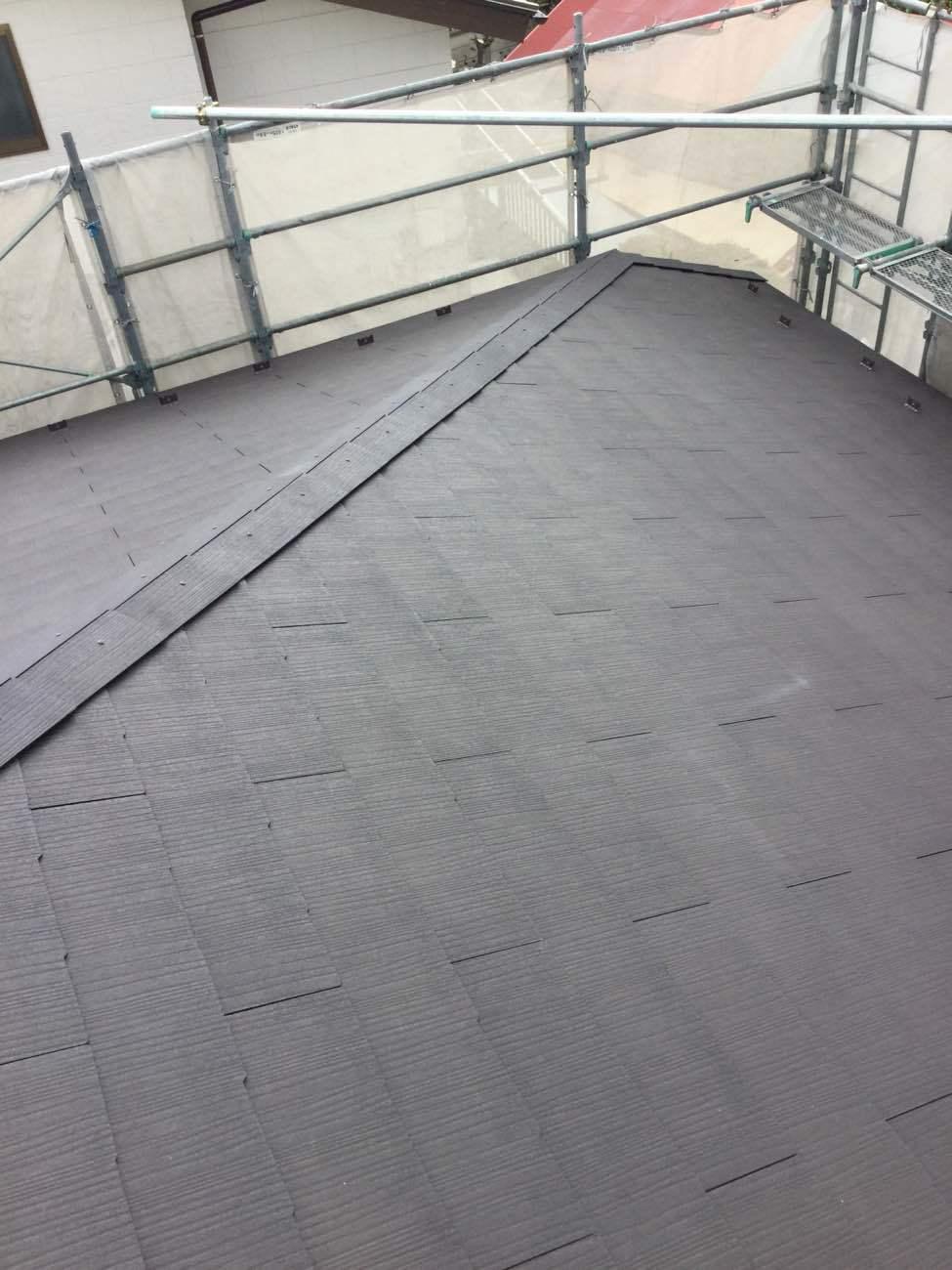 屋根葺き替え工事 _d0358411_13074804.jpg