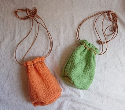 Chanel tweed reversible drawstring bag :2_f0144612_12513996.jpg