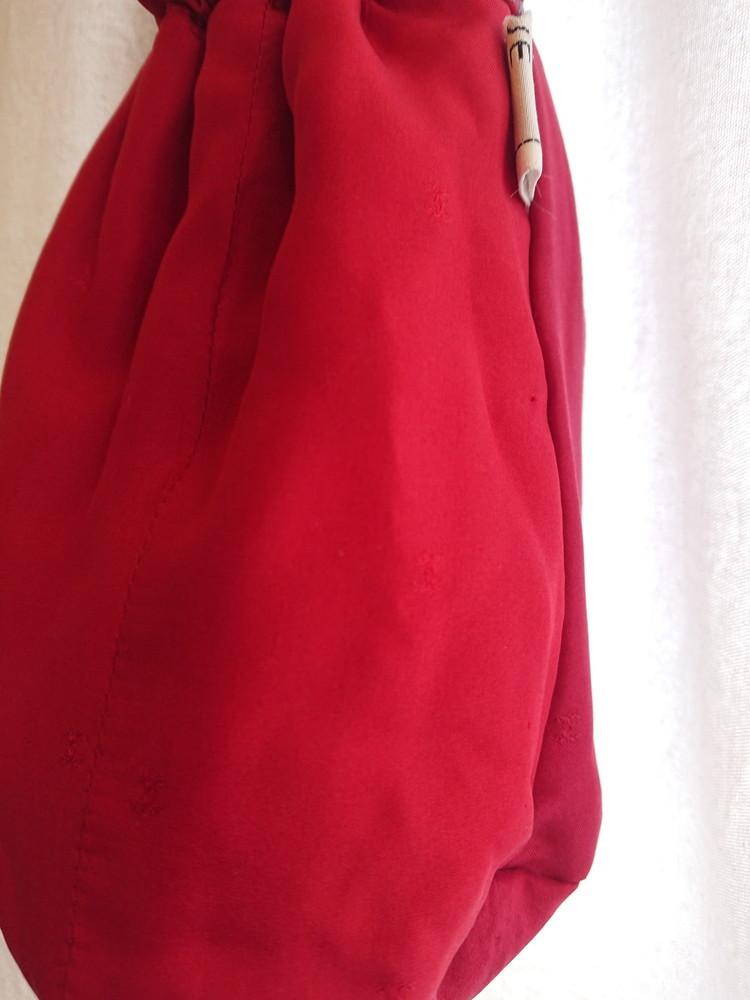 Chanel tweed reversible drawstring bag :3_f0144612_13015138.jpg