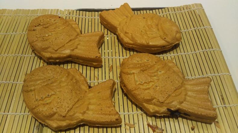大洗まいわい市場  鯛焼きカレー味が焼き上がりました❗_a0283448_10190675.jpg
