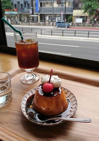 理想の♪昔ながらのかためプリン・ALL SEASONS COFFEE@四谷三丁目_f0337357_15320067.jpg
