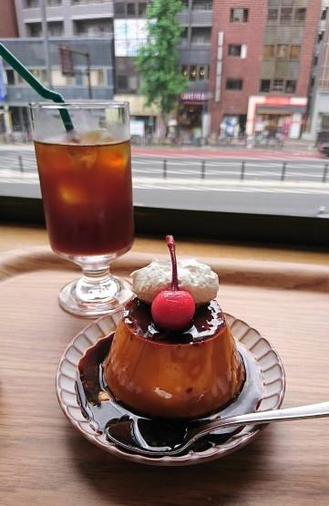 理想の♪昔ながらのかためプリン・ALL SEASONS COFFEE@四谷三丁目_f0337357_15515600.jpg