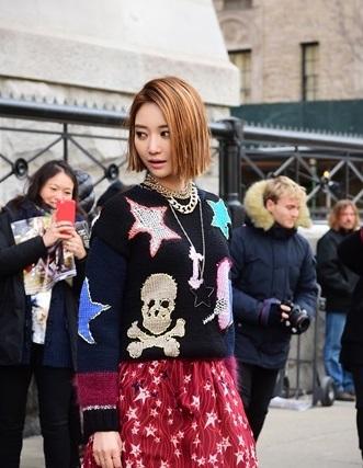 ショートヘアの似合いすぎる女優 コ・ジュニ (ファッショニスタ)メイクが可愛い!バーニングサン事件でとばっちり_f0158064_21302441.jpg