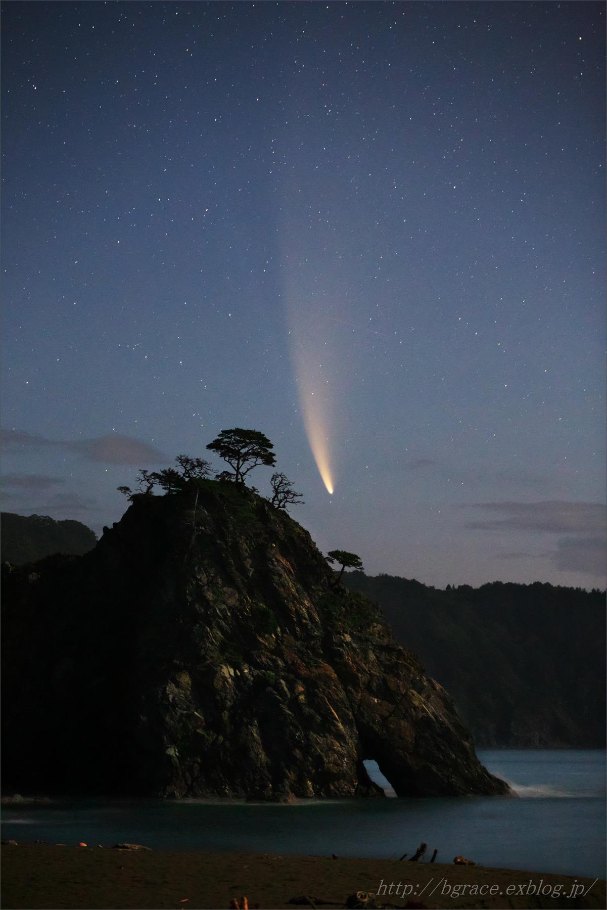 ネオワイズ彗星 (C/2020F3)  7月14日撮影 岩手県 Vol.1_b0191074_22400044.jpg