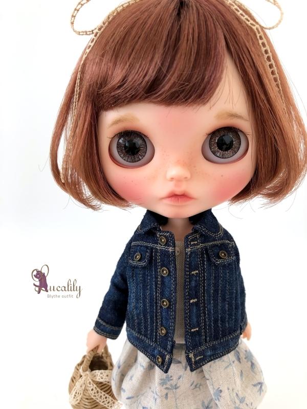 *lucalily * dolls clothes* Denim jacket set *_d0217189_10531426.jpg
