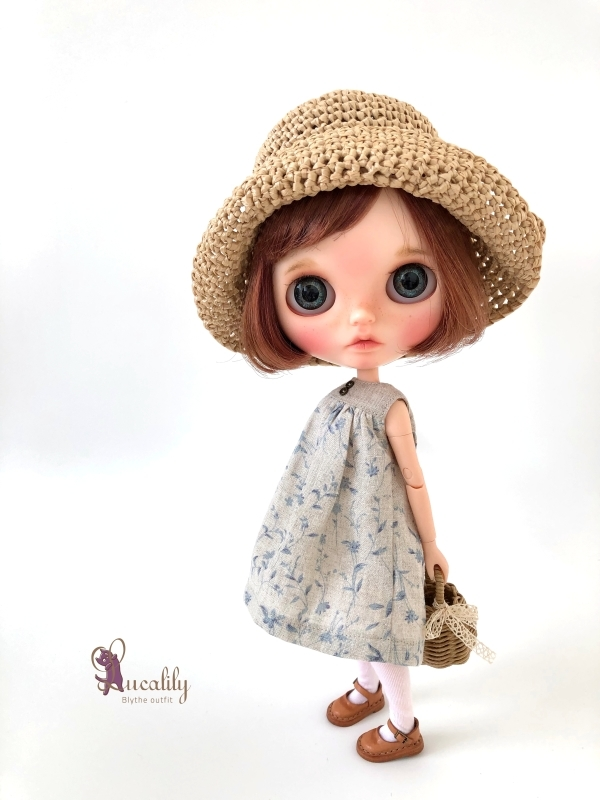 *lucalily * dolls clothes* Denim jacket set *_d0217189_10531658.jpg