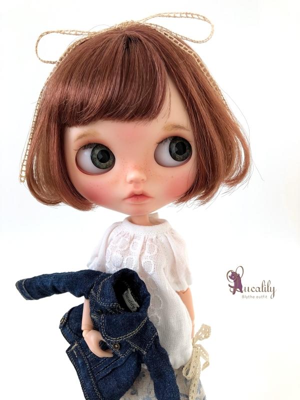 *lucalily * dolls clothes* Denim jacket set *_d0217189_10532175.jpg