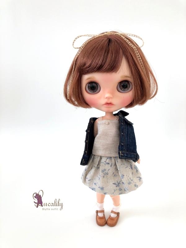 *lucalily * dolls clothes* Denim jacket set *_d0217189_10532497.jpg