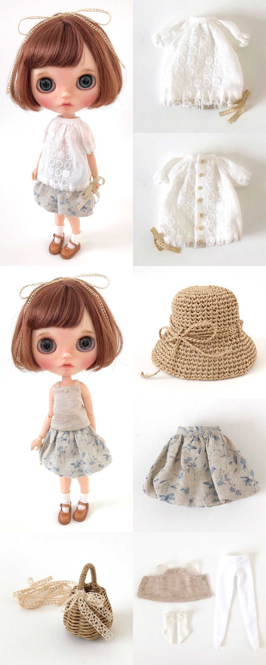 *lucalily * dolls clothes* Denim jacket set *_d0217189_10534403.jpg