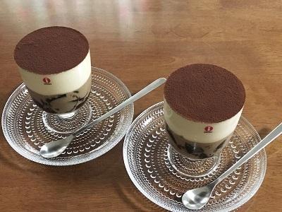 水信玄餅を作ってみた、とティラミス×コーヒーゼリー_f0231189_17443324.jpg