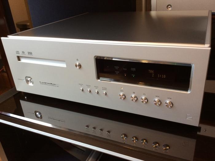 LUXMAN(ラックスマン)のSACD/CDプレーヤーのフラグシップ D-10X を試聴いたしました。_b0292692_14441495.jpg