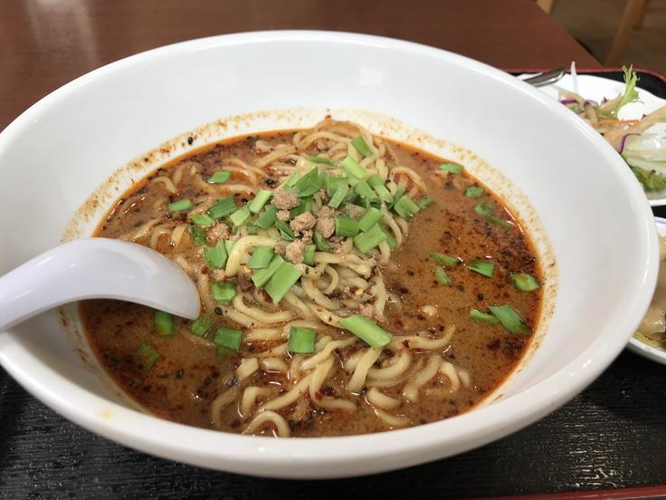 激辛坦々麺と辛味もやし@満福樓(八王子)_c0212604_12173842.jpg