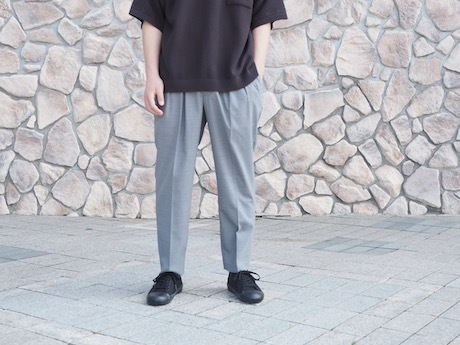 再入荷  SAYATOMO -HAKAMA SLACKS-_b0163746_18545972.jpg