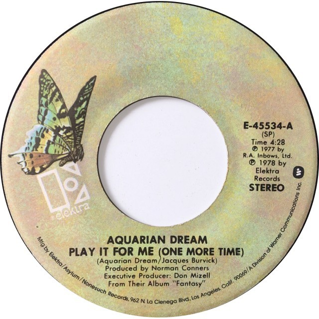 aquarian dream ‎– play it for me (one more time) / gentle thoughts_c0212161_13121050.jpeg