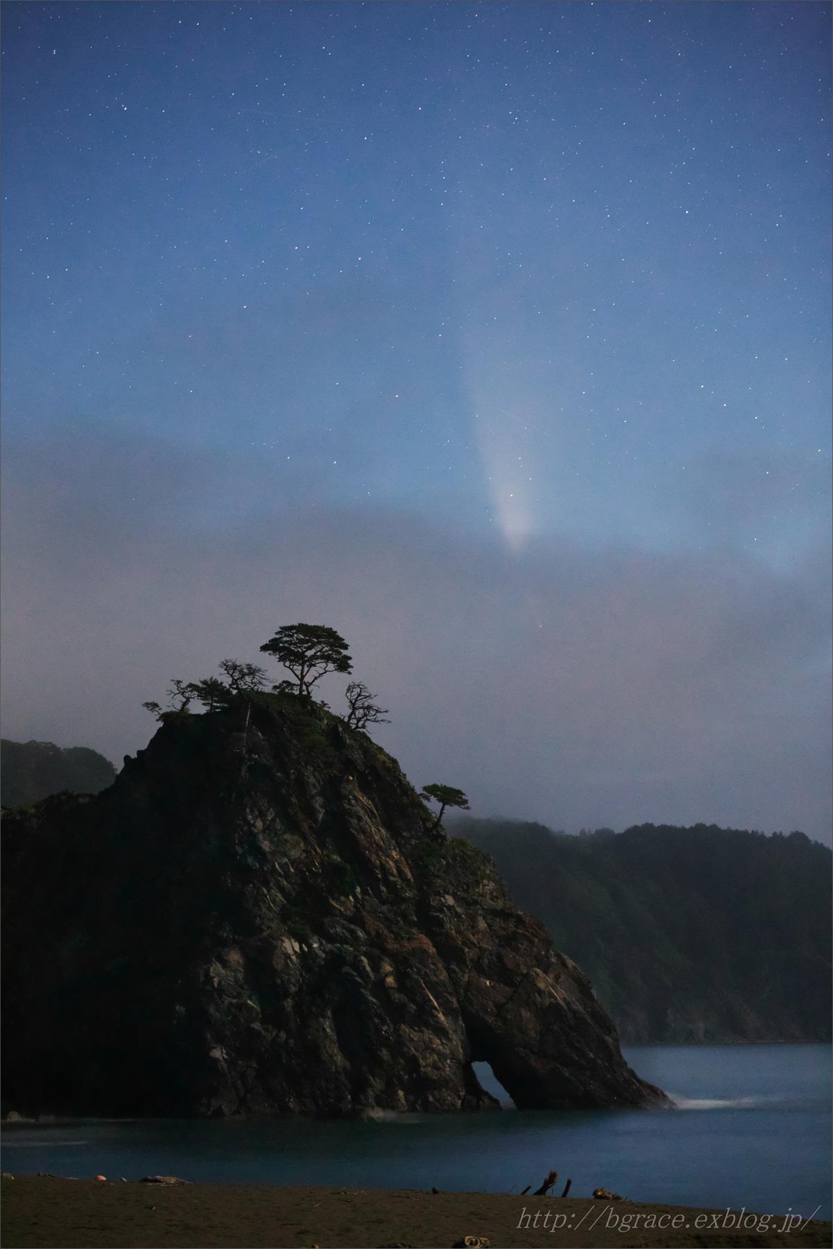 ネオワイズ彗星 (C/2020F3) 7月14日撮影 岩手県 Vol.2_b0191074_20175132.jpg