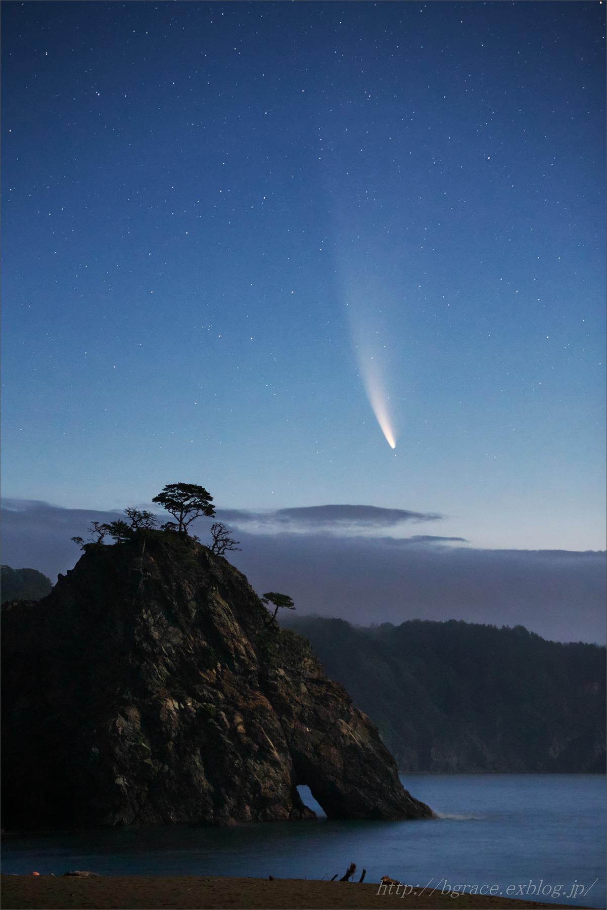 ネオワイズ彗星 (C/2020F3) 7月14日撮影 岩手県 Vol.2_b0191074_20175966.jpg