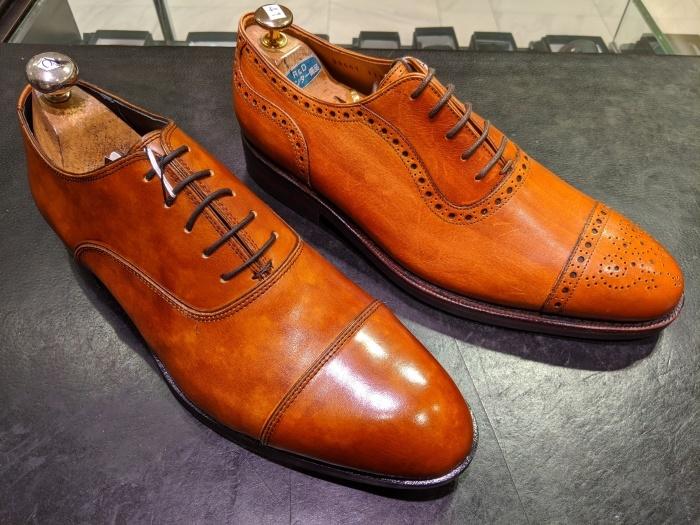 本日の磨き靴。_b0226322_16122706.jpg