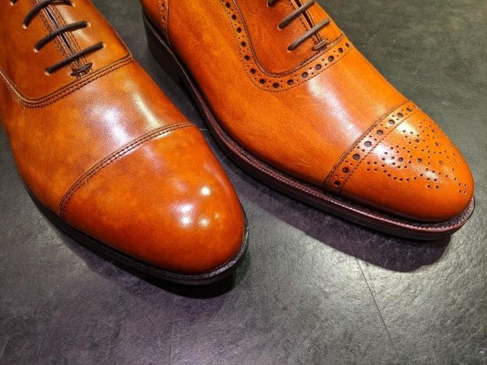 本日の磨き靴。_b0226322_16131309.jpg