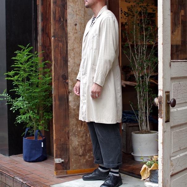 Vintage Duster Coat / Made in USA. MANHATTAN UNIFORM CO. CHICAGO._d0257333_17202859.jpg