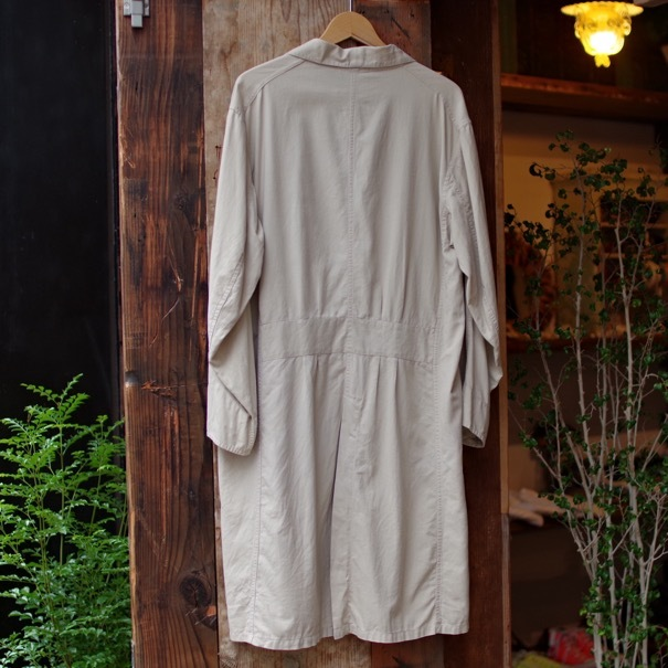 Vintage Duster Coat / Made in USA. MANHATTAN UNIFORM CO. CHICAGO._d0257333_17210847.jpg