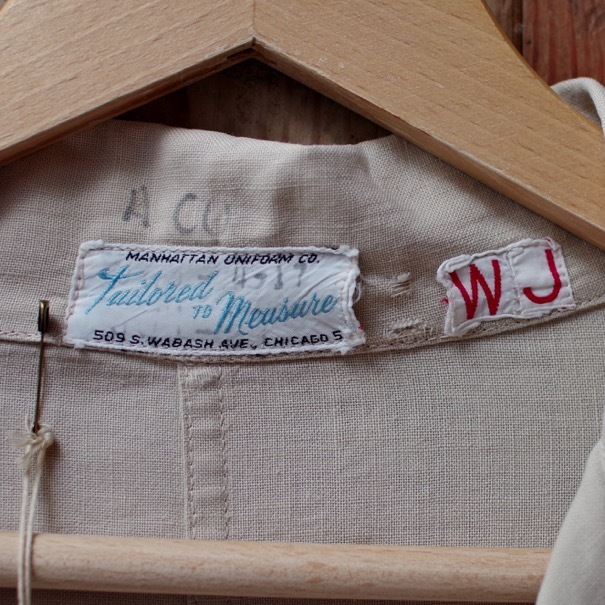 Vintage Duster Coat / Made in USA. MANHATTAN UNIFORM CO. CHICAGO._d0257333_17211553.jpg