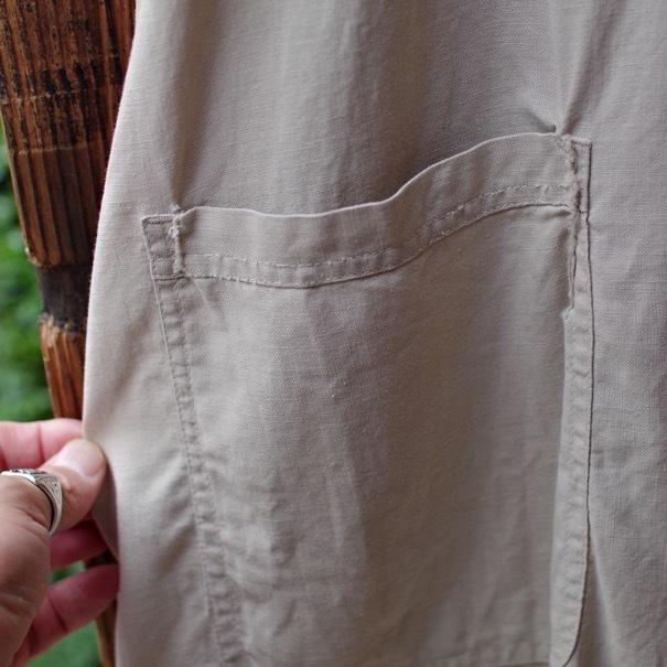 Vintage Duster Coat / Made in USA. MANHATTAN UNIFORM CO. CHICAGO._d0257333_17212144.jpg