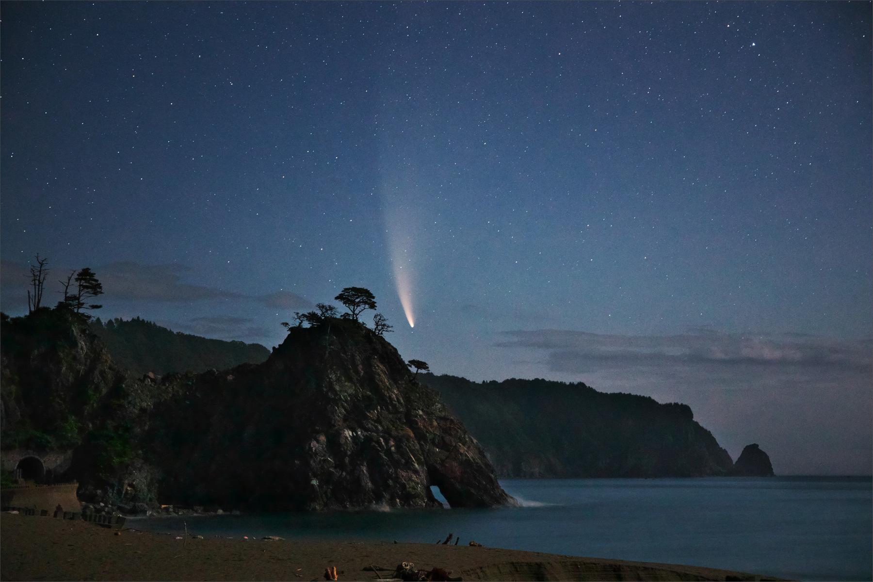 ネオワイズ彗星 (C/2020F3) 7月14日撮影 岩手県 Vol.3 END_b0191074_21333084.jpg