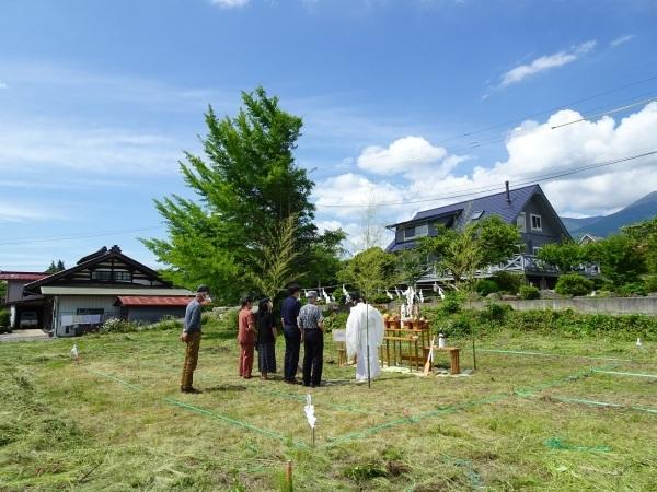 富士見町Tさん邸の現場より 1_a0211886_16382260.jpg